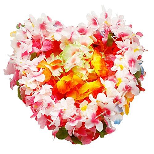 Omenluck - Ghirlanda di fiori in seta, 36 pezzi