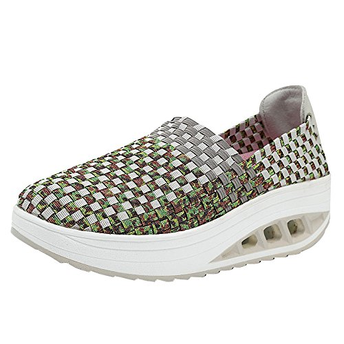Frauen Damen Laufschuhe Sneaker StraßEnlaufschuhe Sportschuhe Turnschuhe Schuhe Luftkissenschuhe Joggingschuhe Freizeitschuhe 35-41(Grau-a,38 EU)