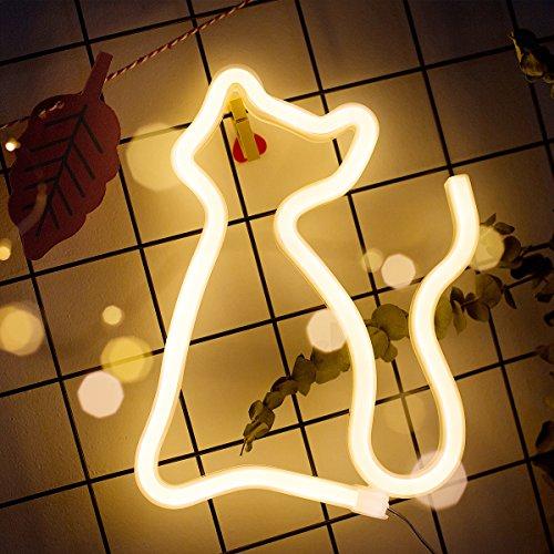 XIYUNTE Neon Signs - Lámpara de pared para luces nocturnas