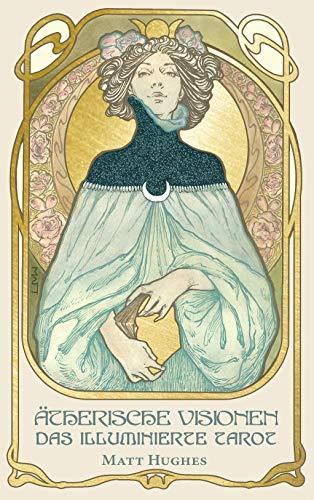 Ätherische Visionen (ETHEREAL VISIONS) - Das illuminierte Tarot: dekorative Box und Karten mit Goldprägung und Booklet, 48 Seiten