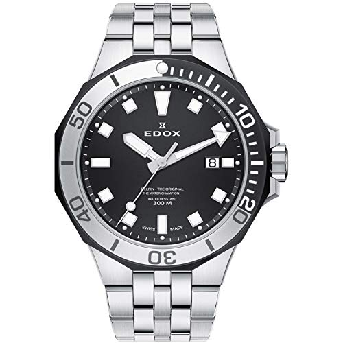 Edox Delfin The Original Reloj de Hombre Cuarzo 43mm 53015 357NM NIN