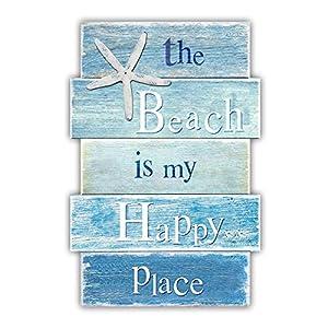 51sX7O2R4YL._SS300_ Wooden Beach Signs & Coastal Wood Signs