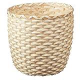 Unbekannt Maceta de bambú de KAFFEBÖNA, Hecha a Mano, (24 cm)