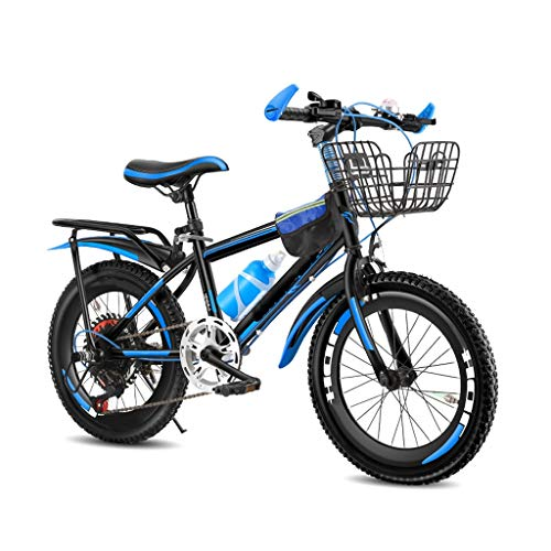 OFFA Mountain Bike,18 24 Inch Variable Speed Kids Boys Girls Bikes Teens Age 6-8/13-18 Years Old,Double Brake, High Carbon Steel Frame, Dirt Bicycle Suitable for Height 115-125cm/ 150-175cm