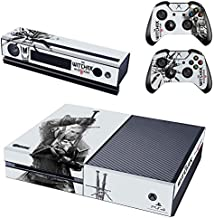 Xbox One Skin Set - The Witcher 3: Wild Hunt HD Printing Skin Cover Protective for Xbox One Console, Kinect & 2 Controller by Mr Wonderful Skin