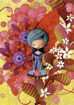 Blue Lady, Ketto - Educa 1000 Piece Puzzle by Educa