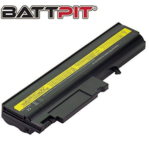 Battpit Laptop Akku für IBM 92P1087 08K8193 ThinkPad R50 R50e R50p R51 R51e R51p R52 R52p T40 T40p T41 T41p T42 T42p T43 T43p - [6 Zellen/4400mAh/48Wh]