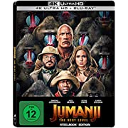 Jumanji: The Next Level - Steelbook UHD [Blu-ray]