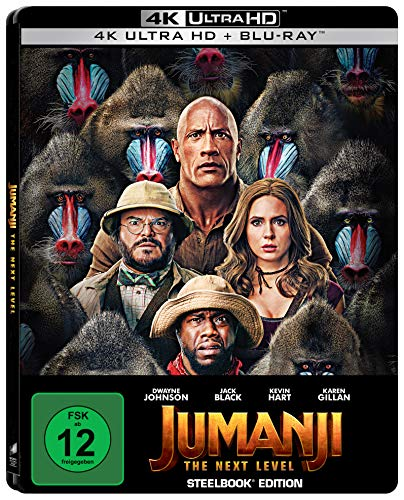 Jumanji: The Next Level - Steelbook UHD [Blu-ray]
