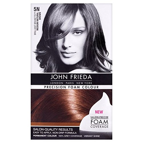 John Frieda Precision Schaum Farbe Medium Natur Brown 5N