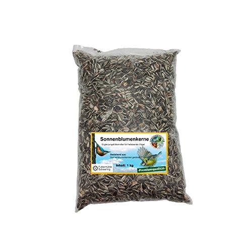 Wildvogelfutter Streupaket mit 5 Sorten Futter je 1kg - 3