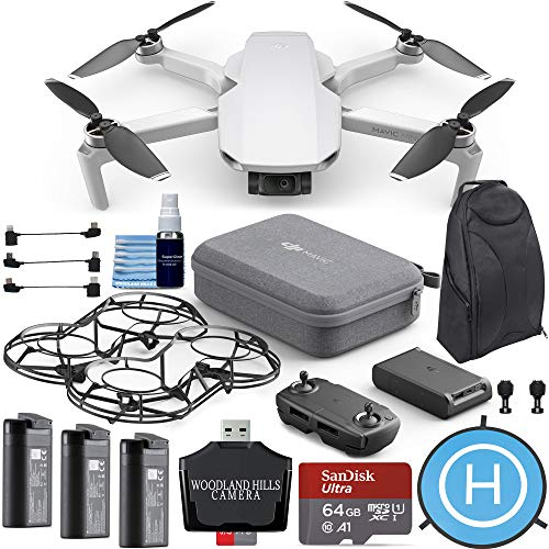 Price comparison product image DJI Mavic Mini Fly More Combo Portable Drone 64gb Ultimate Travel Bundle Kit