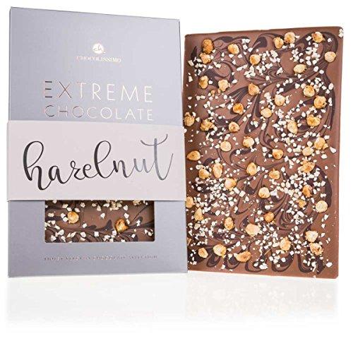 Extreme XXL - Nuss - Tafel Vollmilch-Schokolade mit Haselnuss | 350 g | Riesen | Große | Riesige | Groß | Valentinstag | Geschenkidee | Männer | Frauen | Geburtstag | Mann | Frau