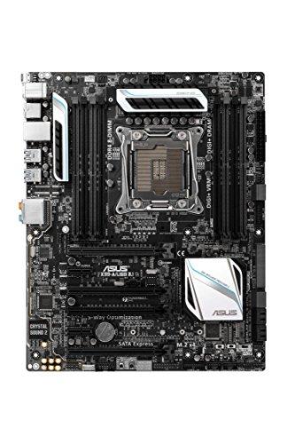 Asus X99-A/USB 3.1 Mainboard Sockel 2011-3 (ATX, Intel X99, 8x DDR4 Speicher, 10x SATA 6Gb/s, 2x USB 3.1, 4x USB 3.0, 4x USB 2.0, Thunderbolt 2, PCIe 3.0, M.2)