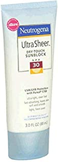 Neutrogena Ultra Sheer Dry-Touch Sunblock, SPF 30, 3 Ounce (Pack of 2)