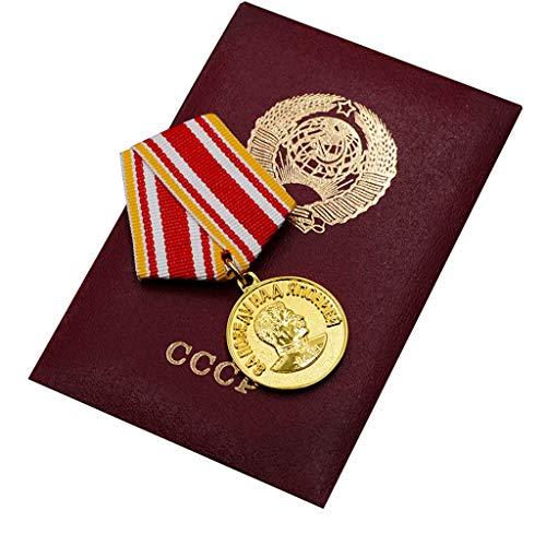 Réplica de la Guerra patriótica Alemana, Medalla para la Victoria de Japón, con Caja de Almacenamiento, Medalla de aleación para fanáticos Militares
