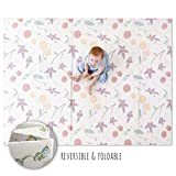 JumpOff Jo – Large Waterproof Foam Padded Play Mat for Infants, Babies, Toddlers, 8+ Months – for Play & Tummy Time...