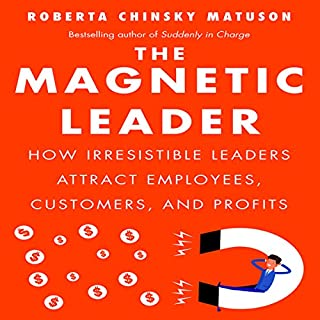 The Magnetic Leader audiobook cover art
