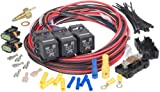 Painless Performance 30118 Dual Activation, Dual Electric Fan Relay Kit with Thermostatic Switch (On 205/Off 190) for LSX