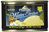 Festival Sliced Waterchestnuts, 8-Ounce (Pack of 24)...