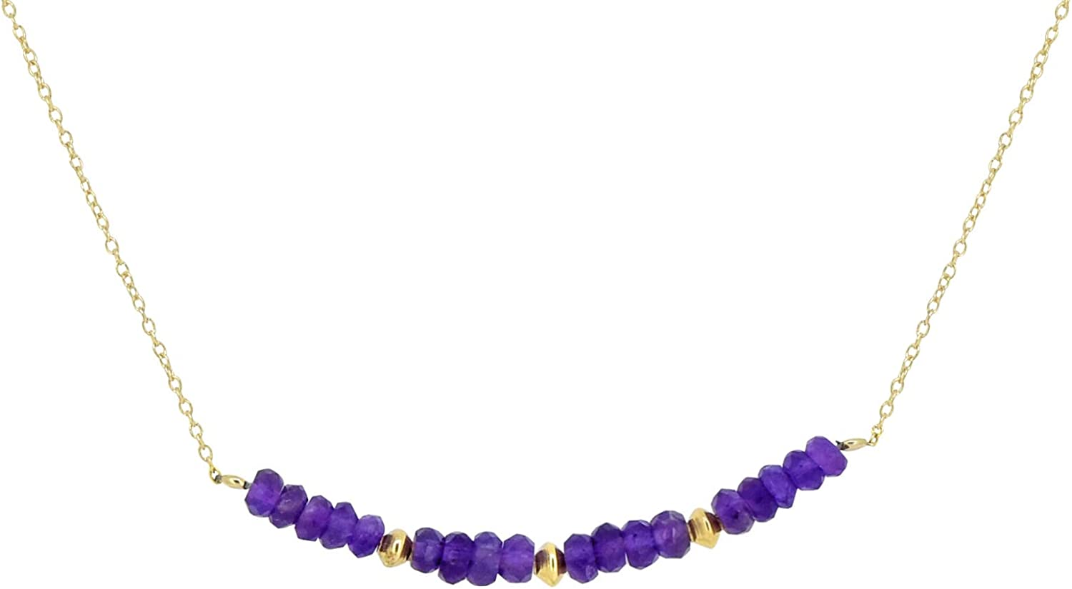 YoTreasure Many popular brands Amethyst Solid 925 Sterling Gold Chain Free shipping on posting reviews Silver Plated