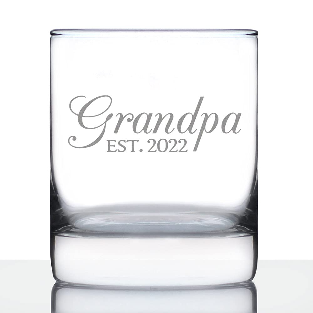 Grandpa Est Branded goods 2022 - New Grandfather for Gift Rocks Whiskey Ranking TOP3 Glass