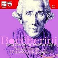ボッケリーニ:6つの小弦楽三重奏曲&交響曲集
