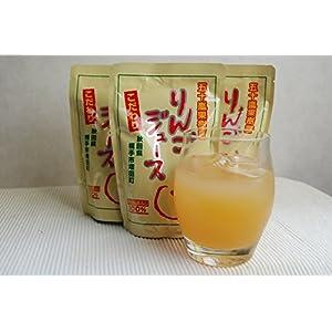 秋田県産「サンふじ」まるごと1個分 無添加 五十嵐果樹園りんごジュース