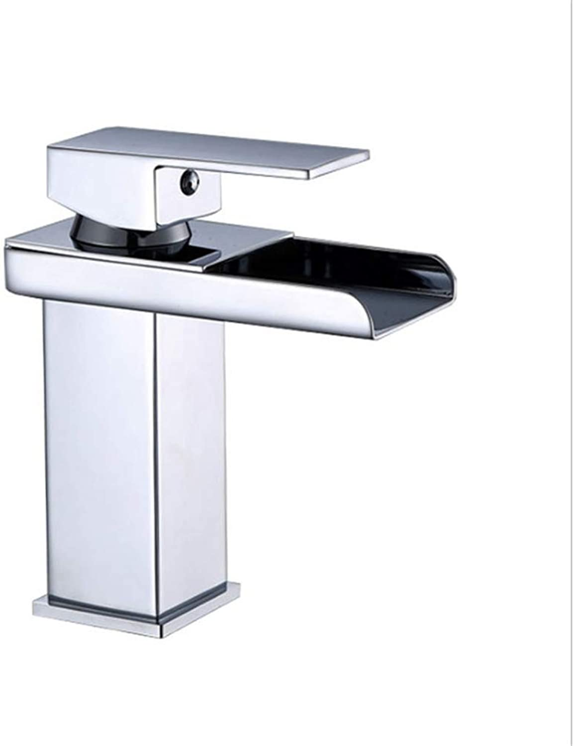 Kitchen Taps Faucet Modern Kitchen Sink Taps Stainless Steelcopper Single-Hole Basin Faucet Platform Basin Faucet Hand-Washing Mixing Faucet