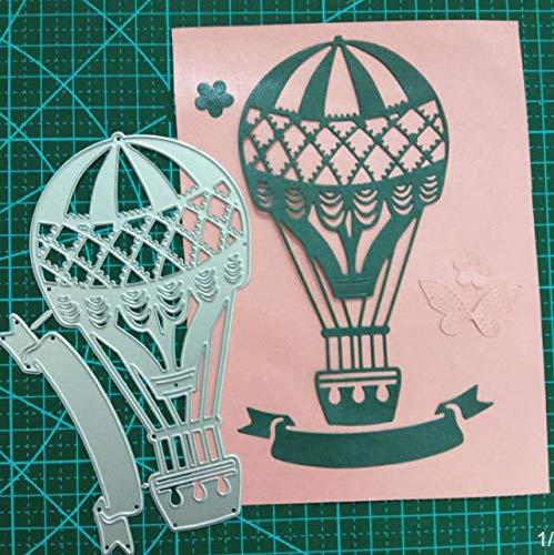 RKZM hete afsnijding ballon koolstofstaal mes-vorm nieuwigheid papier kunst-reliëf etensuitsnij-stans-metaalsnij-blokjes