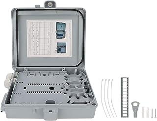 Fiber Termination Box, Fiber Optical Terminal Box 12 Core FTTH Indoor Outdoor Fiber Optical Splitter Box IP65