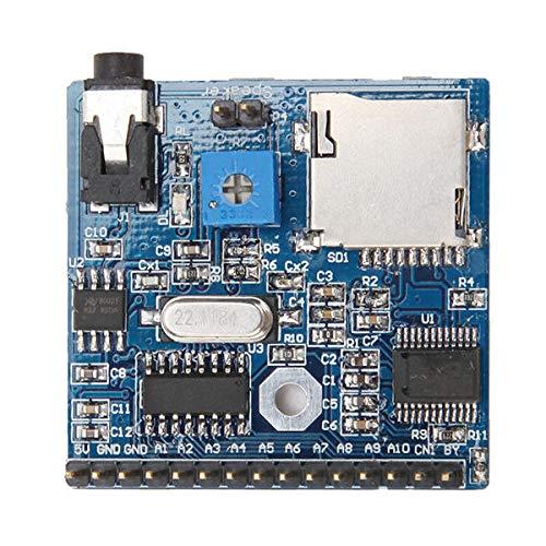 Dlb0109 DC 5V 1A Voice Playback Module Board MP3 Voice Actuate Voice Broadcast Device Support MP3 / WAV 16GB TF-Karte für Arduino - Produkte, die mit verschriebenen Arduino-Boards arbeiten Hochleistun