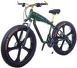 Bicicleta Eléctrica Bicicleta eléctrica para adultos - Neumático de grasa 26inc 48V 10Ah Mountain E-bike - con batería de litio de gran capacidad - 3 modos de montar Disc Freno de disco Batería de lit