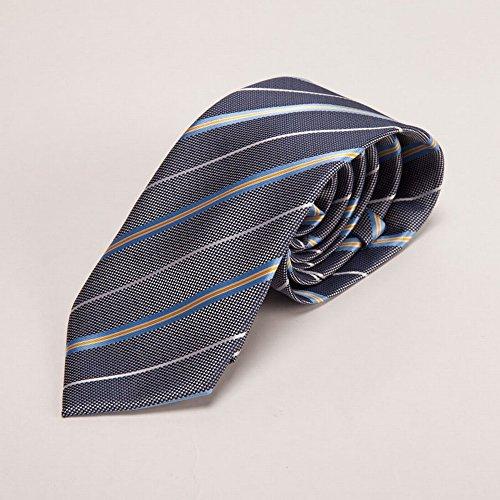 ZBPD Herren Hochzeits Krawatte Business Krawatte Polyester Krawatte,D,145 * 8 * 3.5CM