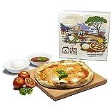 RPRRBE Pietra Refrattaria per Pizza da Forno Domestico Biscotto Refrattario per Pizza Barbecue Autentica Pietra Refrattaria per Pizza da Forno per Cottura Perfetta