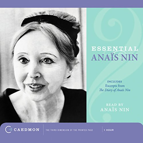 Essential Anais Nin audiobook cover art