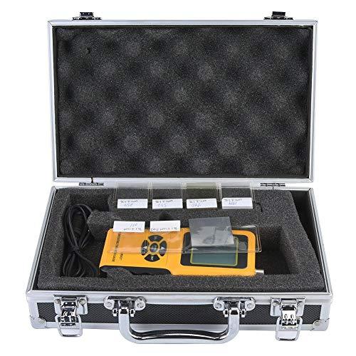 Medidor de espesor de revestimiento digital estándar, rango de medición de alta sensibilidad 0~1800um Apagado automático para talleres de pintura para automóviles para construcción naval