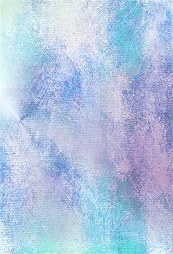 Azul Claro Gradiente Color sólido Superficie de la Pared Fantasía Bebé Patrón Fotografía Fondo Fotografía Telón de Fondo Estudio fotográfico A22 7x5ft / 2.1x1.5m