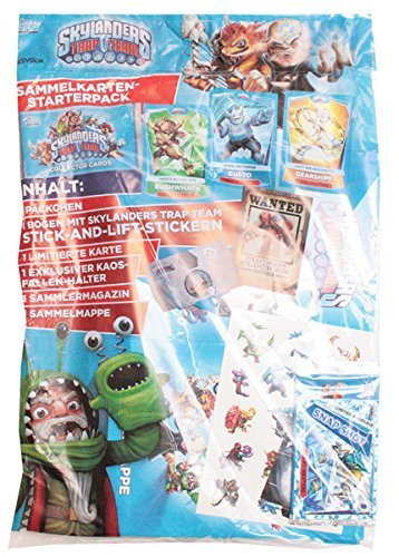 Topps TO00799 - Skylanders Trap Team, Starterpack