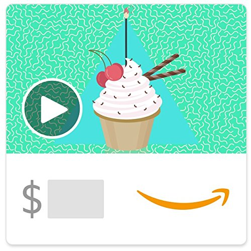 Amazon eGift Card - Birthday party all day and night (Animated)