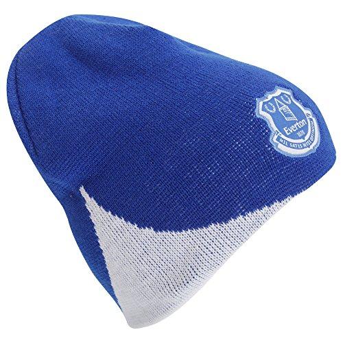 Official FC Everton blauen und weißen Mütze, Hut, Mütze