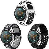 AOTVIRIS Compatible con Correa de Reloj Huawei Watch GT 2 46mm/Huawei Watch GT 2e/Huawei Watch GT...