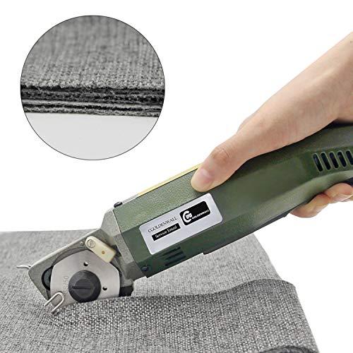 cgoldenwall yj-50 Elektrische Schere rund Messer schneiden Zirkular Tuch Stoff Cutter Scheren 220 V