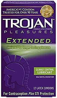 Trojan Pleasures Extended Just A Hint of Numbing Agent