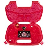 Bakugan 6054796 - Maletín de almacenaje con dragón Pyrus Bakugan, Color Rojo