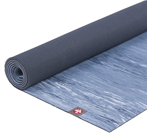 Manduka eKO Lite Yoga Mat – Premium 4mm Thick Mat, Made from Natural Tree Rubber. Ultimate Catch Grip for Superior Traction, Dense Cushioning for Support and Stability in Yoga and Pilates.