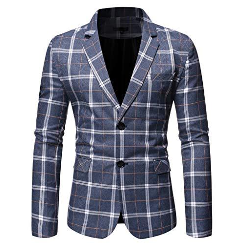 Plot Herren Anzug Jacke Samt Sakko Blazer Gitter Anzugjack Mäntel Slim Fit Herrenanzug Casual Tops für Hochzeit Business Freizeit Party