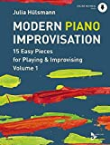 Modern Piano Improvisation - 15 Easy Pieces for Playing & Improvising - Piano - sheet music with online material (ADV 9048)