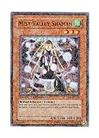 遊戯王 英語版 DT01-EN014 Mist Valley Shaman 霞の谷の祈祷師 (スーパー・パラレル)