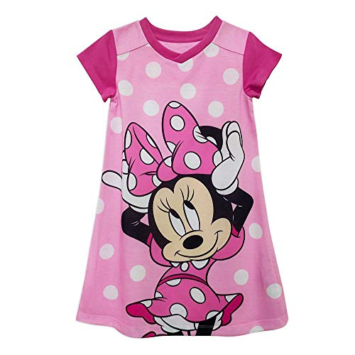 Disney Minnie Mouse Nightshirt for Girls, Size 5/6